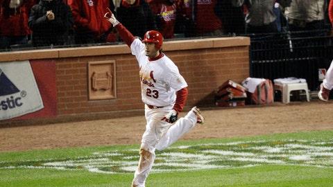 David Freese: 2011 World Series, Game 6