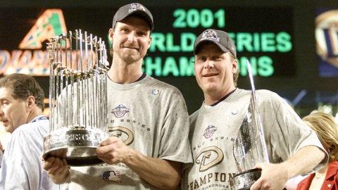 2001: Curt Schilling & Randy Johnson, Arizona Diamondbacks
