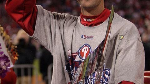 2008: Cole Hamels, Philadelphia Phillies