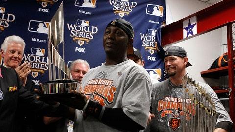 2010: Edgar Renteria, San Francisco Giants