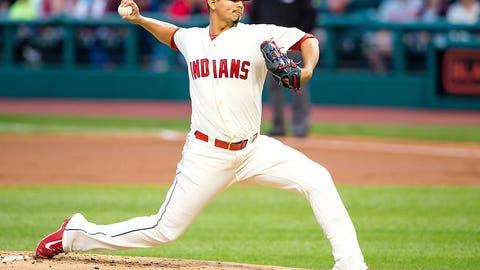 Indians SP Carlos Carrasco