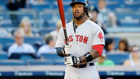 Red Sox LF/1B Hanley Ramirez