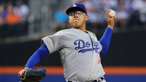 Urias solid in debut