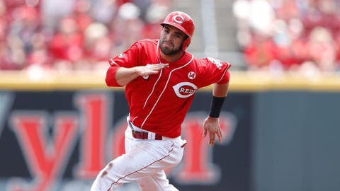 Peraza steady for Reds