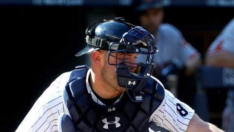 New York Yankees: C Brian McCann