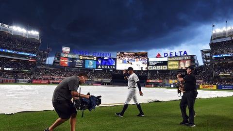 Rain before the big game