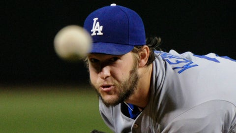 NL: Clayton Kershaw, Dodgers