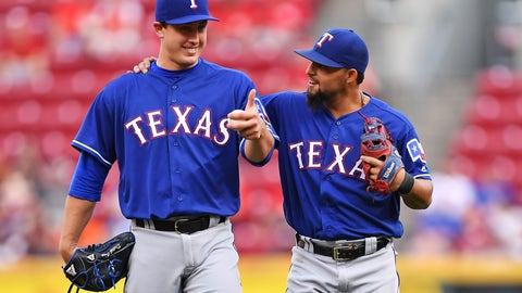 Texas Rangers: Maintain the pitching
