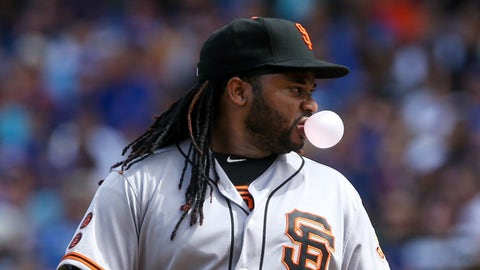 NL: Johnny Cueto, Giants