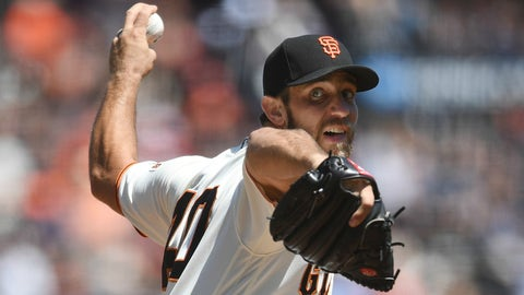 NL: Madison Bumgarner, Giants