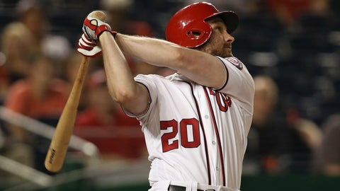 Daniel Murphy hasn't cooled off since last October
