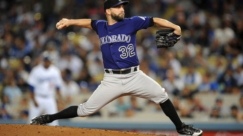 Tyler Chatwood, SP, Rockies