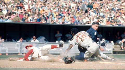 1970 World Series: Elrod Hendricks' hidden-ball tag