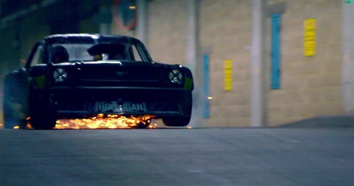 Hoonigan Mustang London