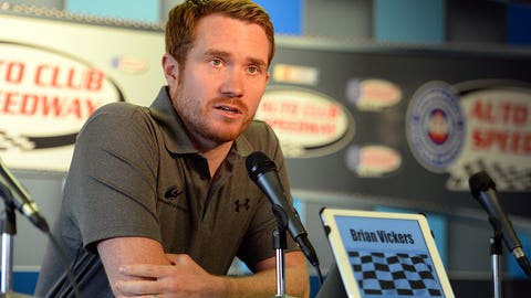 14. BRIAN VICKERS GETS SICK AGAIN