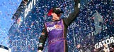 Denny Hamlin's Daytona 500 paint schemes and results