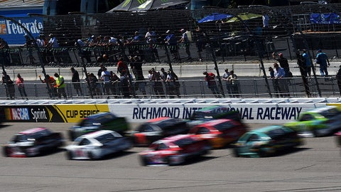 Joey Logano wins first race of season at wild Richmond