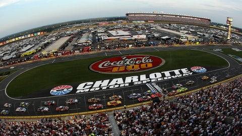 Kyle Busch wins Truck race at Charlotte Motor Speedway
