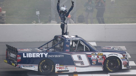 William Byron, 5 wins