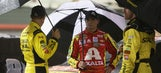 A rainy night at the Bristol Motor Speedway in photos