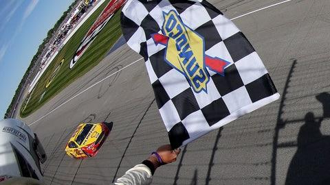 Winning the Pure Michigan 400