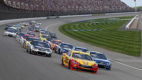 Sprint Cup racing in the Irish Hills