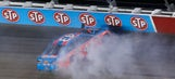 Best photos from Sunday night's Southern 500 throwback race