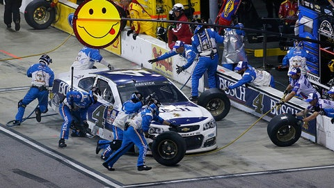 Kevin Harvick is mad as hell