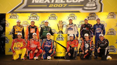 2007 - Chase field expands to 12 drivers