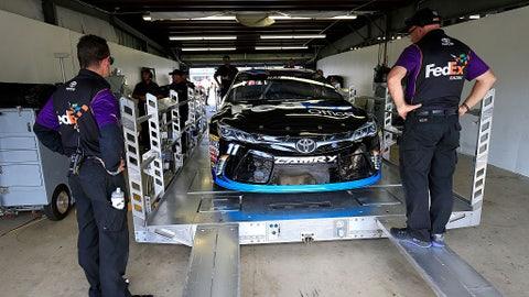 Keselowski on pole for NASCAR Las Vegas stop, Truex Jr. 2nd