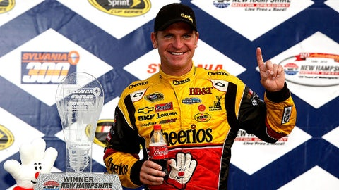 Clint Bowyer, 5 wins at Chase tracks (4 in the Chase)