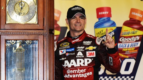 Jeff Gordon, 36 wins at Chase tracks (6 in the Chase)