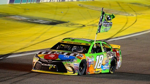 Kyle Busch, 12 wins at Chase tracks (1 in the Chase)