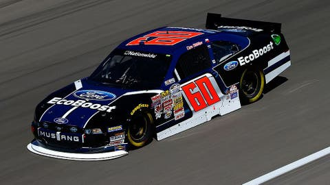 Rookie season with Roush Fenway Racing