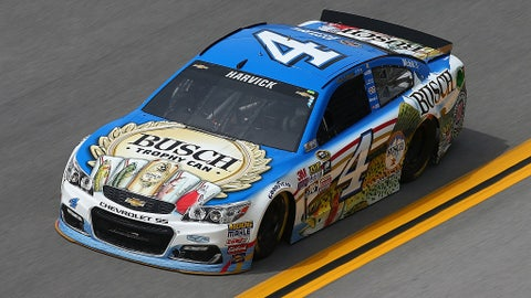 Kevin Harvick, Busch 'Trophy Can' at Talladega in May