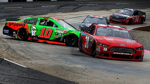 Trouble at Martinsville