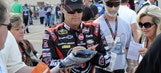 'Happy' fan: Harvick offers woman free trip to the '14 Daytona 500