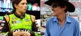 'King' Richard, 'Queen' Danica: NASCAR's top lady tastes royalty