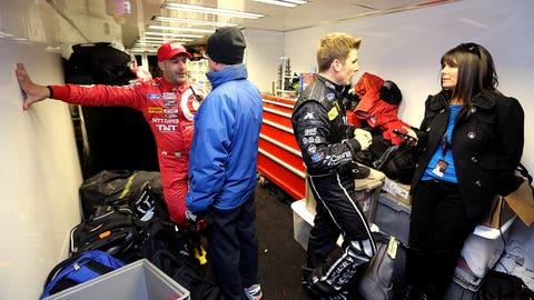 NASCAR stars at Rolex 24
