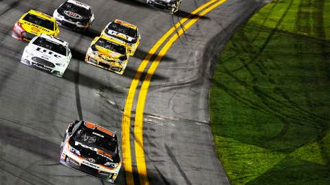 On the way to Victory Lane.
