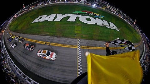 Jubilation: Dale Jr. wins Daytona 500