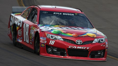 New paint schemes at Phoenix International Raceway