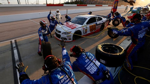Photos: NASCAR tackles the track 'Too Tough to Tame'