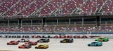 Hamlin wins Talladega after last-lap wreck