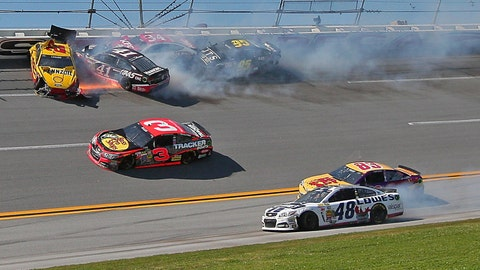 'Dega demolition: Carnage comes to the Aaron's 499