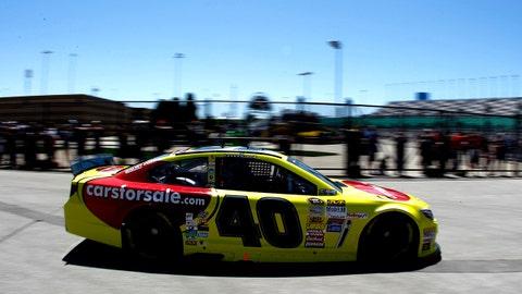 Photos: New paint schemes at Kansas Speedway