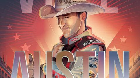 Sprint Fan Vote Top 10 Drivers: Austin Dillon