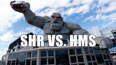Photos: NASCAR Wonka examines the SHR/HMS engine alliance