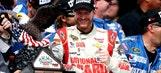 Role reversal: Earnhardt Jr. steals race win at end from Keselowski