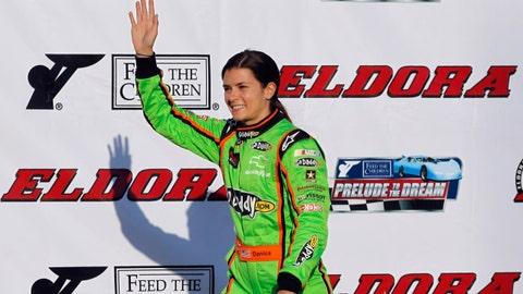 NASCAR stars in action at Eldora Speedway